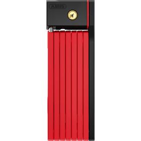 ABUS Bordo Big uGrip 5700/100 SH Folding Lock red